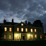 Stanmer House by night