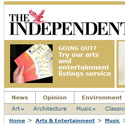 Live review in the Independent